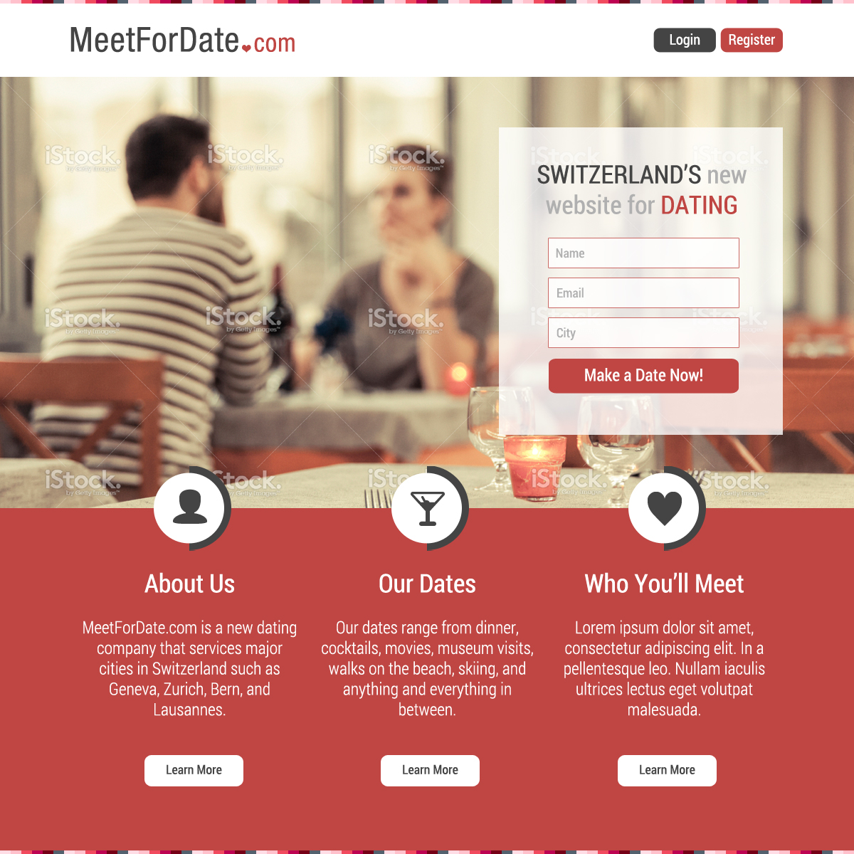 dating sites design Dating and personals websites are one of the most popular sites in the internet nowadays designing it is a profitable endeavor for software developers and designers to make your website more interesting, professional web graphics design should be used.